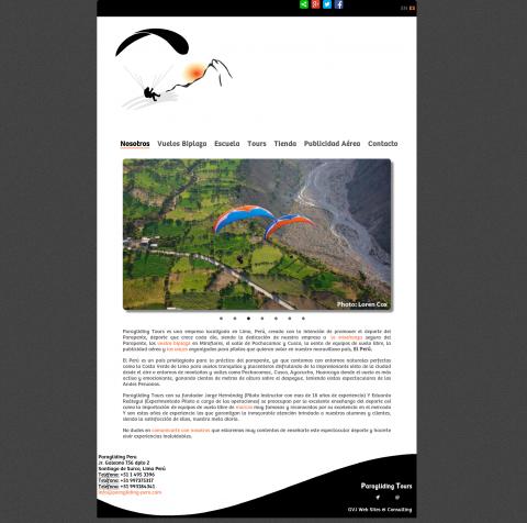 Paragliding Peru