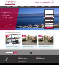 Majestic Immobilier nouveau site web